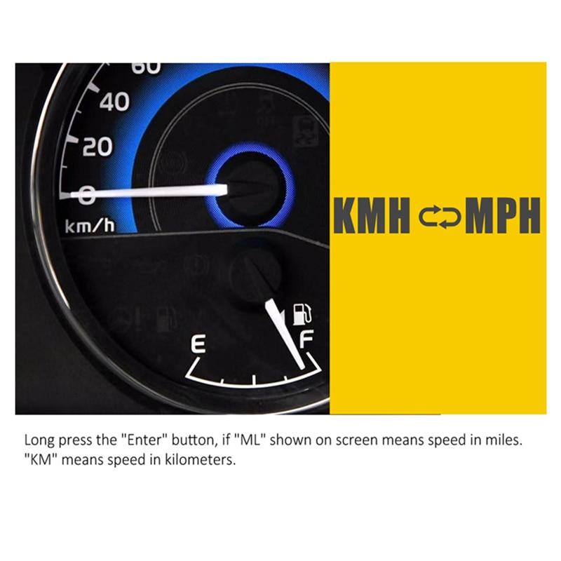 5.5 Inch GPS Speedometer C90 Speed Display KM/H MPH For Car Bike Motorcycle GPS Overspeed Alarm Hud Display      Car Hud Display
