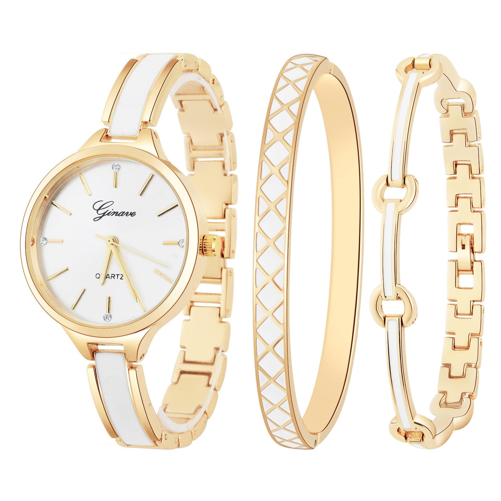Fashion Women'S Watch Quartz Clock Bracele Bracelet 3PCS/SET Wrist Watches For Woman Female Luxury Relojes De Mujer De Moda 2020 enlarge