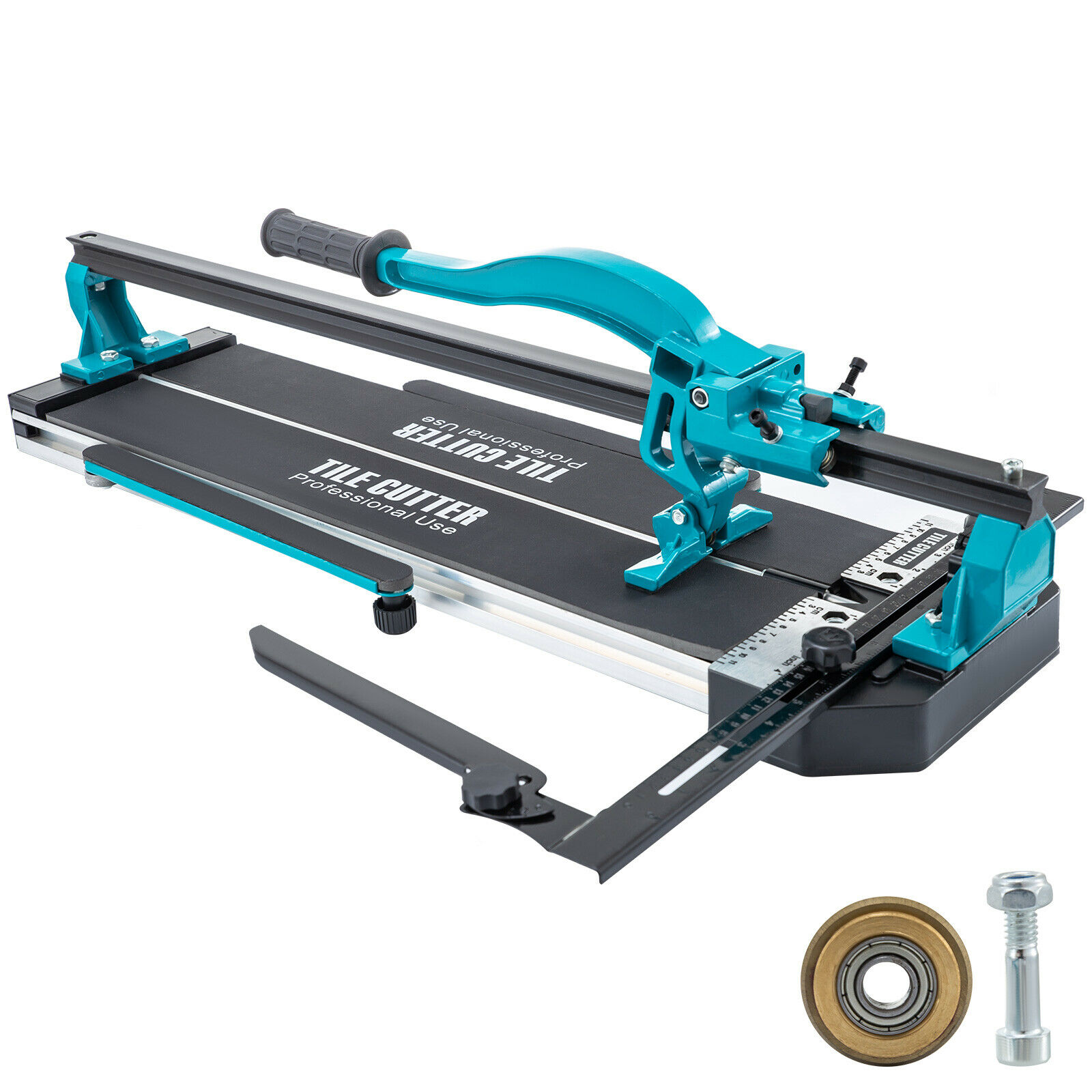 VEVOR Tile Cutter 35mm-1200mm Manual Tile Cutter Ceramic Cutter with Stand Laser Tile Cutting Machin