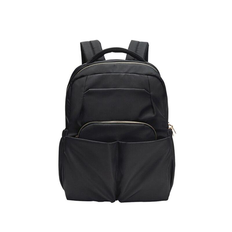 حقيبة السفر المرأة الكتفين والترفيه طالب سعة كبيرة مكافحة سرقة أكسفورد القماش على ظهره