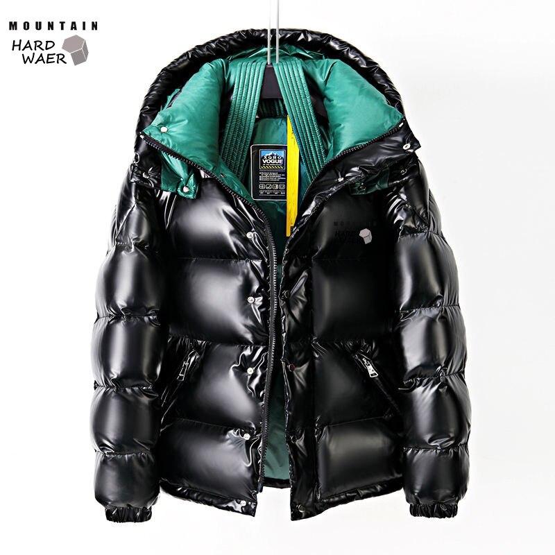 Men's Winter Down Jacket Warm Coat Mountain Hard Waer Waterproof Windbreak Loose The European And American Style