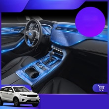 Lsrtw2017 TPU Transparent Car Interior Central Control Protective Film for Ford Territory 2019 2020