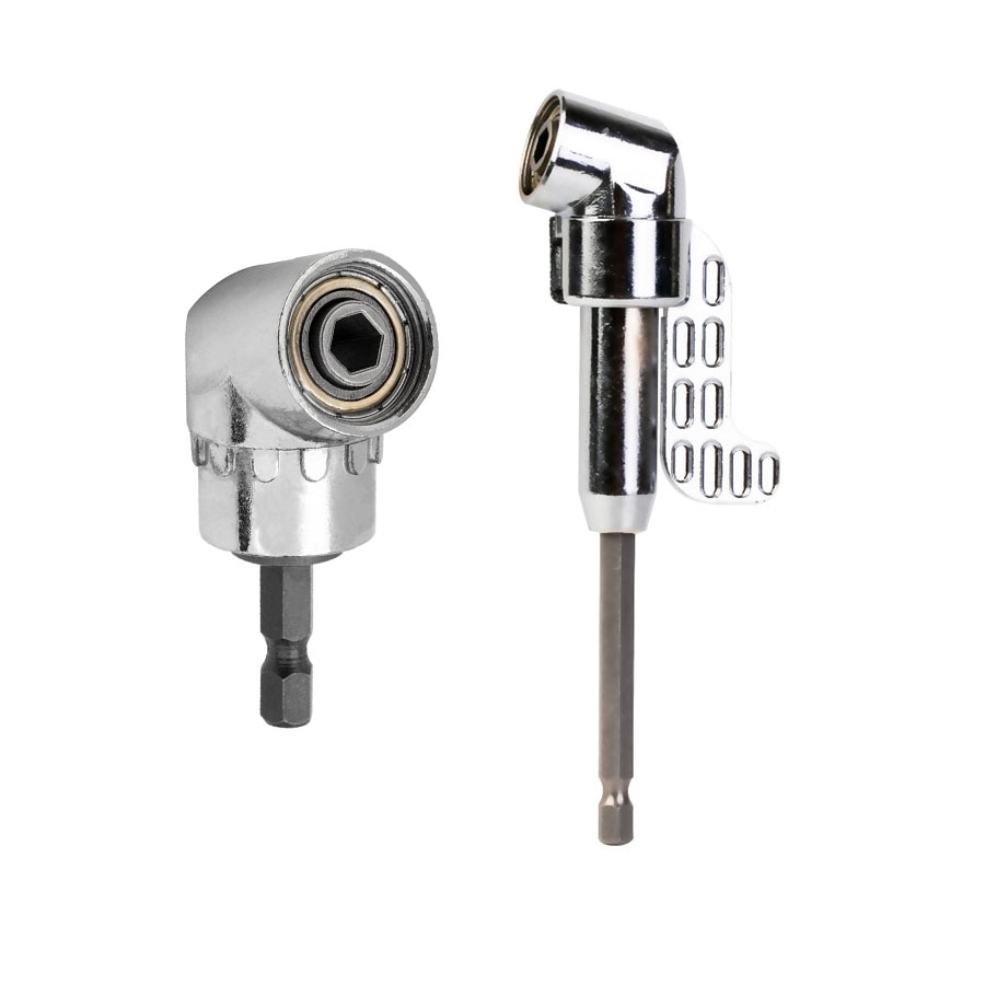 Juego de destornillador angular de 105 grados, adaptador de llave de torsión para taladro de 1/4 pulgadas, accesorios para taladro eléctrico de zócalo hexagonal