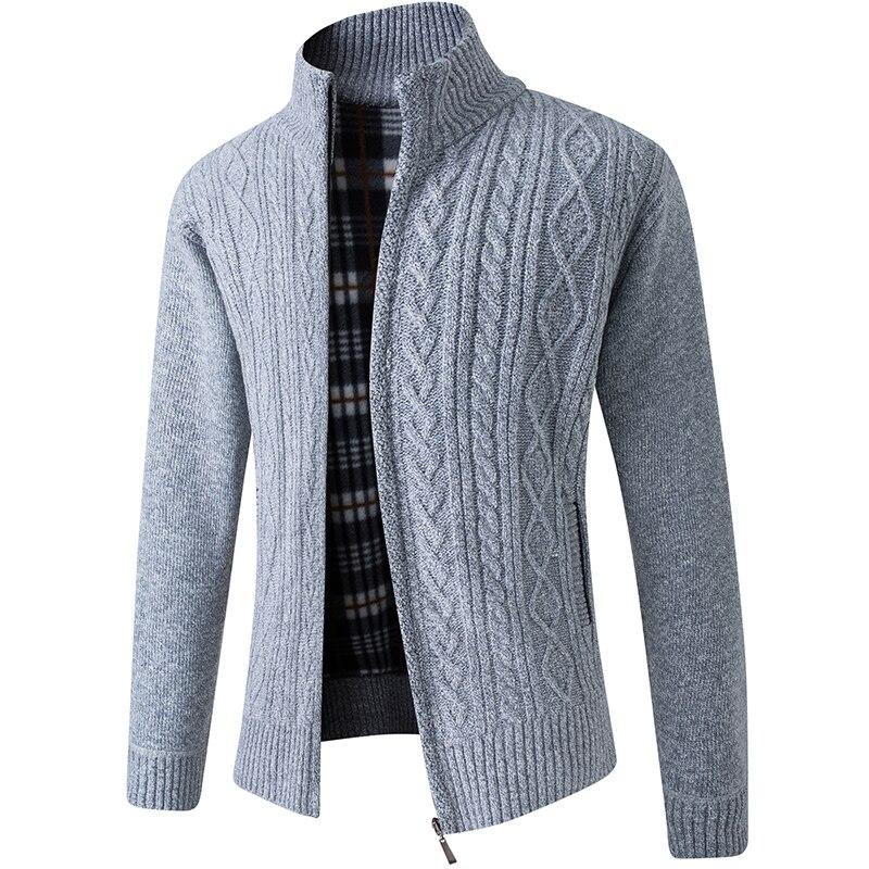 Новинка 2021, мужские свитеры, осенне-зимние теплые кашемировые свитеры, мужская повседневная трикотажная одежда, свитеры, пальто, мужская од...