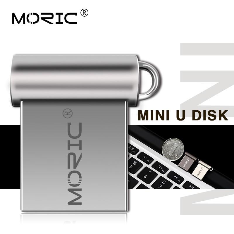 Memoria externa con capacidad Real USB de Metal pen drive 4GB 8GB...