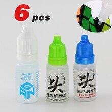 Magic Speed Cube Glijmiddel Voor Moyu Qiyi Gan Glijmiddel 10Ml Vet Olie Siliconen Glijmiddel Dayan Snelheid Kubus Smeerolie kleverigheid Glijmiddel