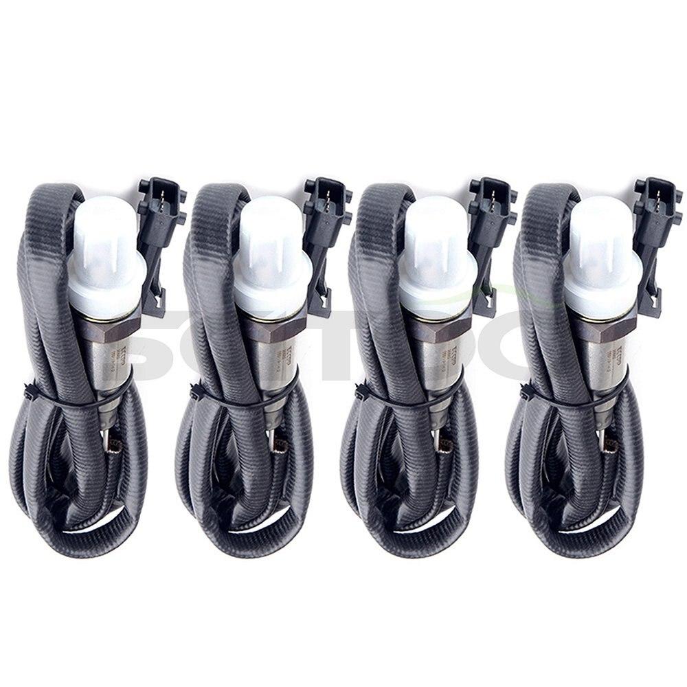 Scitoo Car Parts 4pcs Upstream/Pre Downstream/Rear Oxygen Sensor 02 O2 for 95 98 Porsche 911 3.6L