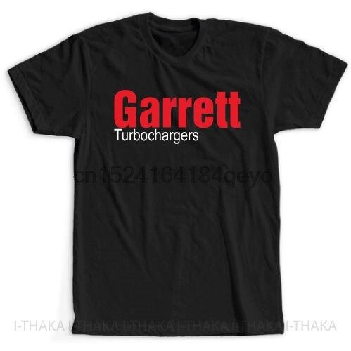 Turbocompressores Garret Logotipo T-Shirt Novo