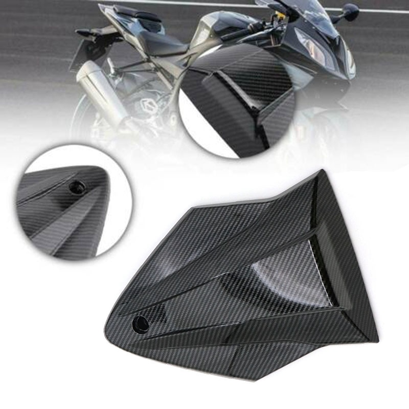 for 2015-2019 -BMW S1000RR S1000R Carbon Fiber Pattern Rear Seat Cover Tail Cowl Fairing Replace Motorcycle Accessories