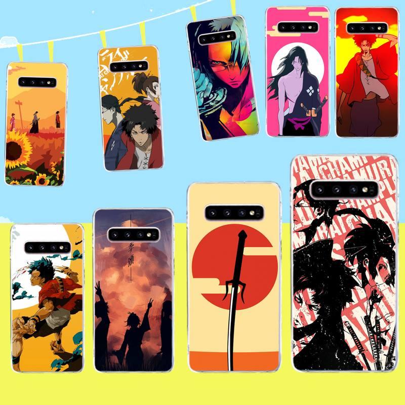 CUTEWANAN Anime Samurai Champloo DIY Painted Bling Phone Case for Samsung S9 plus S5 S6 S7 edge S8 S10 plus