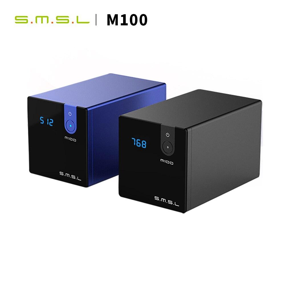SMSL M100 HIFI USB DAC AMP MINI DAC Optical Coaxial Eingang AK4452 DSD512 32bit/768kHz Hallo-Res audio Decoder desktop