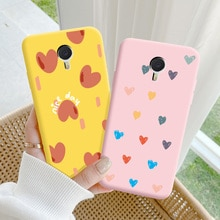 For Meizu Note 3 Case Protective Phone Shell Frosted Silicone Casing For Meizu Note 3 Color Heart-Sh