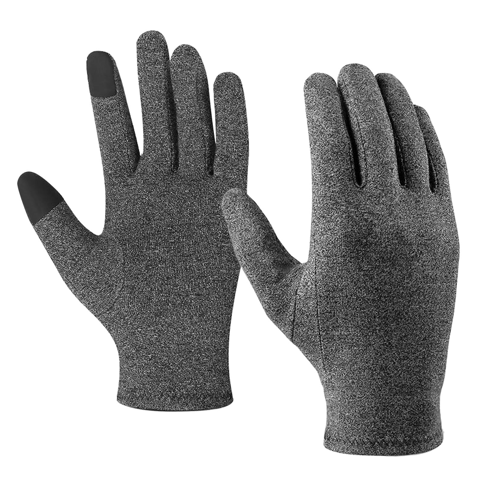 Full Finger Arthritis Gloves Touchscreen Sports Gloves for Arthritis Hand Support Joint Pain Relief