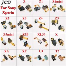 JCD pour Sony Xperia Z Z1 Z2 Z3 Z4 Z5 X XA XP Compact Premium Plus casque découte Audio prise téléphone capteur de proximité câble flexible