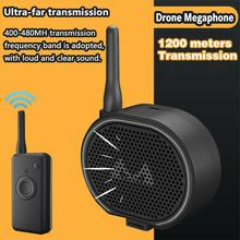 Duurzaam Te Gebruiken Drone Draadloze Luidspreker Megafoon Voor Dji Mavic Pro Mavic 2 Phantom 3 4 Pro 2Km Sterke penetratie Stabiele Geluid