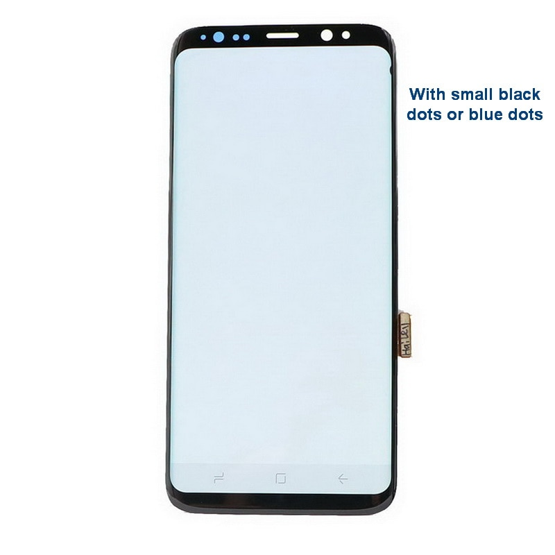 Original AMOLED Display for SAMSUNG Galaxy S9 G960 LCD Display Touch Screen Digitizer S9 Plus G965F Lcd screen With Small spots enlarge