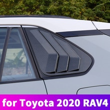 Toyota Rav4 2019 2020 vitre de carrosserie   Garniture de voiture, vitre triangulaire arrière, Modification de la vitre latérale, Article de décoration pour Toyota Rav4