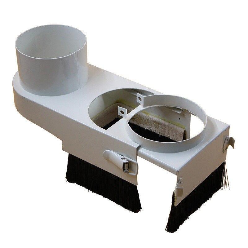 Пылесос для гравировального Станка 70 мм/100 мм, пылезащитный чехол, нейлоновая щетка для фрезерного станка с ЧПУ, шпинделем, деревообрабатыва...
