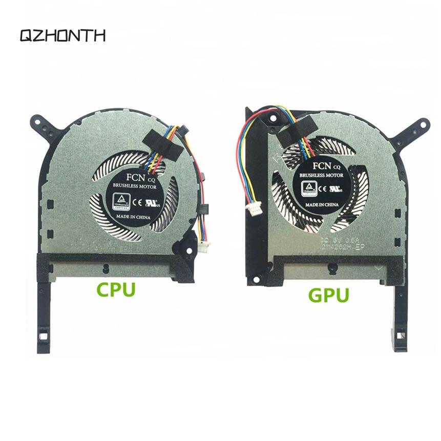 Portátil CPU + GPU ventilador de refrigeración para ASUS Strix TUF 6 FX505 FX505G FX505GE FX505GD FX705