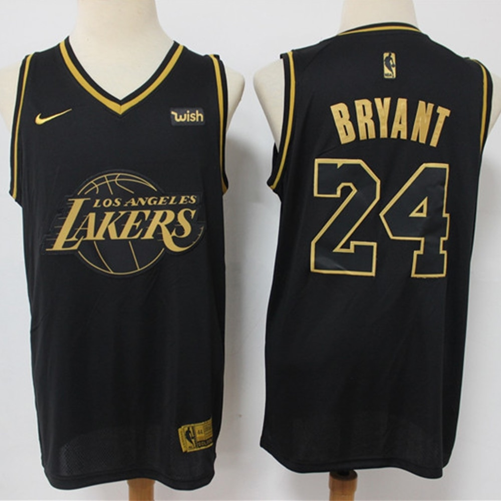 Kobe Bryant-Camiseta de baloncesto de Los Ángeles para hombre, camisa clásica de...