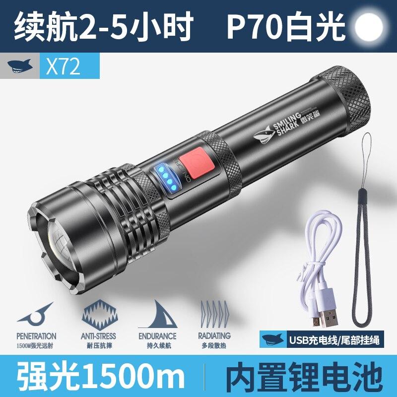 Portable Outdoor Flashlight Bicycle Camping Military Powerfu Tactical Waterproof Flashlight Linterna Led Lighting Torches DB60SD enlarge