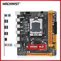 MACHINIST X79 PC материнская плата LGA1356 для Intel Xeon Core Pentium серия процессор DDR3 настольная ОЗУ Mini-DTX SATA 3,0 X79 V5.33B
