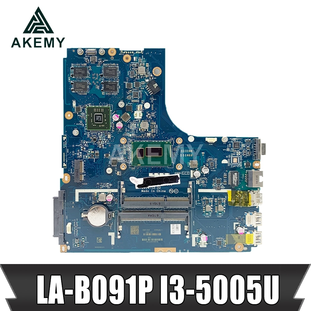 جديد Mianboard لينوفو Ideapad B50-70 اللوحة المحمول ZIWB2/ZIWB3/ZIWE1 LA-B091P 2 جيجابايت وحدة معالجة الرسومات I3-5005U