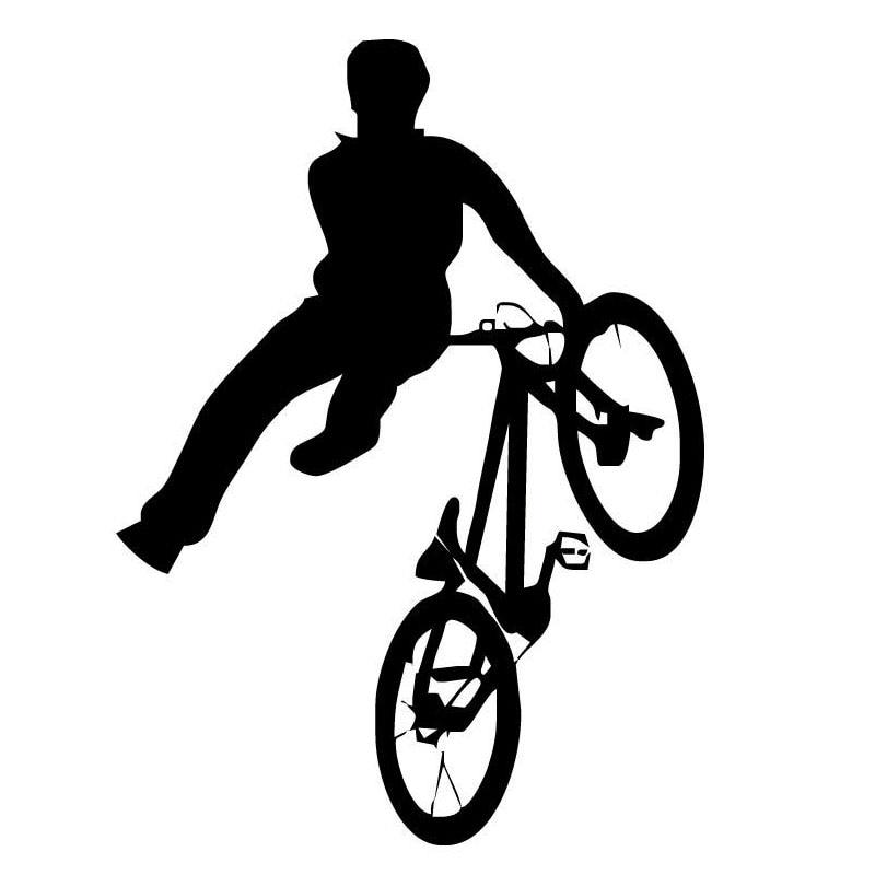 Автомобильные наклейки, интересный автомобильный Стайлинг, спортивный велосипед, ПВХ, украшение автомобиля, наклейка, покрытие, царапины, ч...