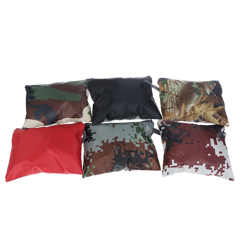 Bolsa de almacenamiento portátil, resistente al agua, Anti-UV, con cremallera, organizador para exteriores, bolsa de viaje para cosméticos, mochila, funda para lluvia