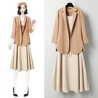 black women blazer 2021 formal blazers lady office work suit jackets coat slim women clothing polyester