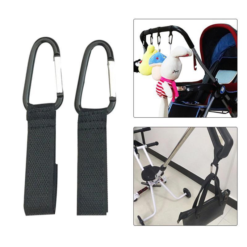 5Pcs Baby Stroller Hook Baby Hanger Baby Bag Stroller Hooks Stroller Accessories Dropshipping Multi Purpose Bag Hanger
