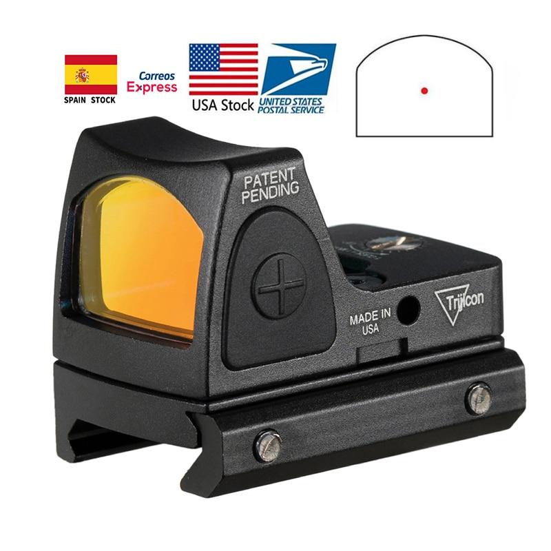 Trijicon mini rmr red dot sight eua estoque colimador glock rifle reflex vista scope para airsoft caça arma