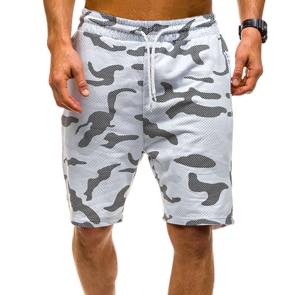 Новинка 2021, летние повседневные шорты, мужские хлопковые модные стильные мужские шорты, пляжные бермуды, мужские шорты, мужские камуфляжные...