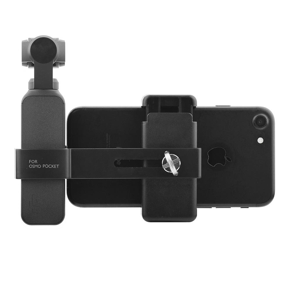 TWISTER.CK For DJI OSMO Pocket Camera Smartphone Holder Stand Mount Mobile Phone Holder