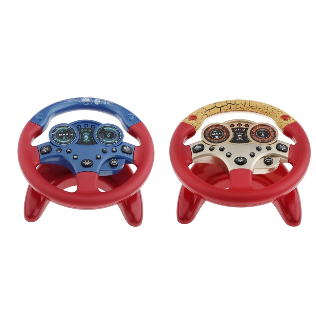 Игрушки на руль светильник кой и звуком, Детские музыкальные игрушки грязером