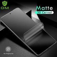 Matte Hydrogel ฟิล์มสำหรับ Xiaomi Poco X3 Nfc F3 GT Civi 11 Ultra M3 Redmi หมายเหตุ10 8 9 K40 pro ป้องกันหน้าจอกระจกนิรภัย