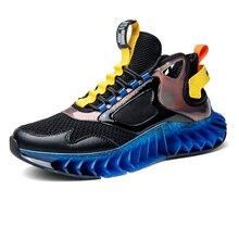 Cushioning Platform Running Shoes Men Mens Trainers Zapatillas de Hombre Mesh Sports Shoes for Male