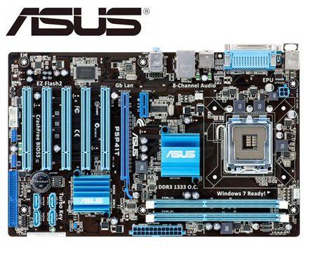 ASUS-placa base P5P41T original para intel DDR3 LGA 775, USB 2,0, para...