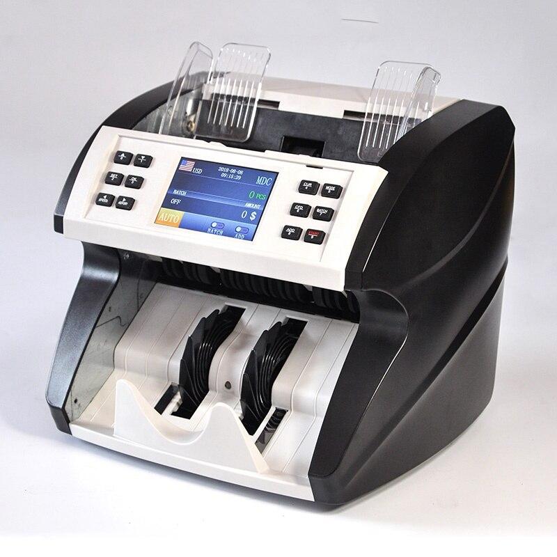 المهنية مختلطة تسمية متعددة قيمة العملة ماكينة عد النقود آلة عداد الأوراق المعدنية فاتورة قيمة عداد اليورو usd