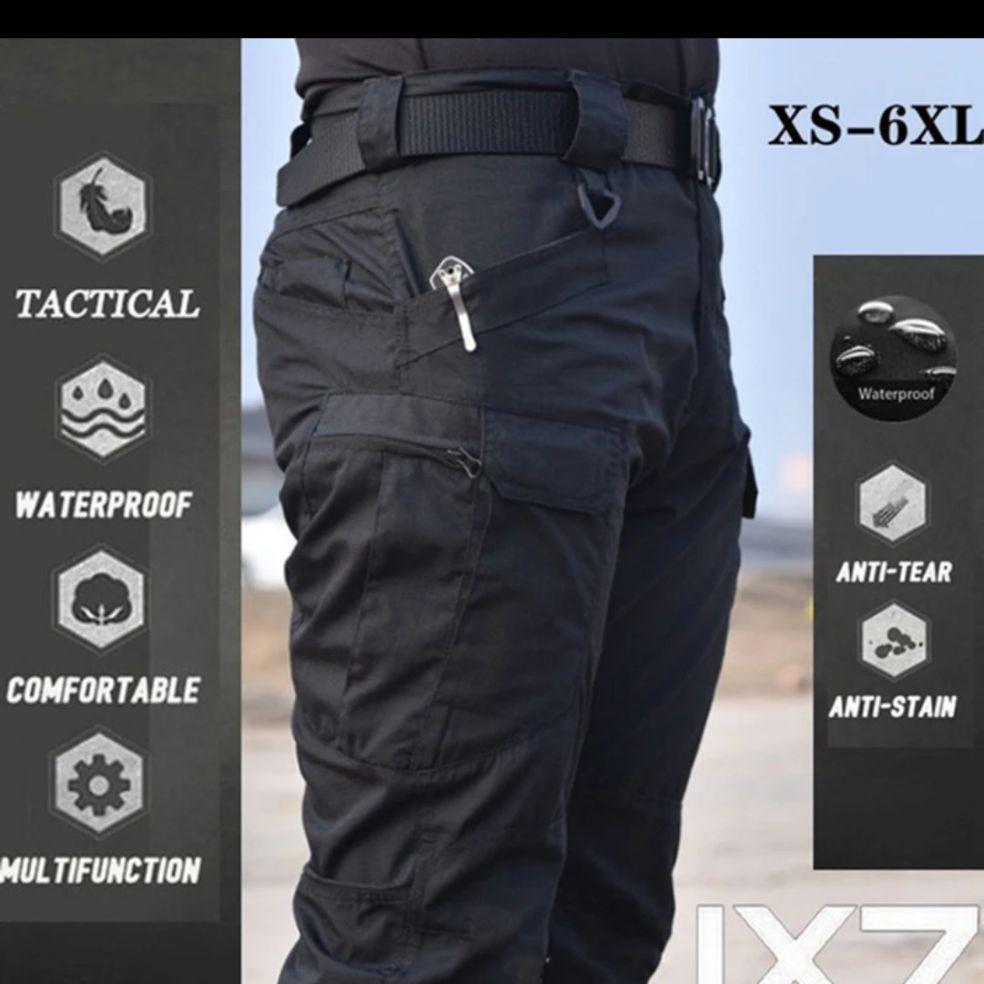 S-3XL الرجال عارضة البضائع السراويل مرونة المشي في الهواء الطلق الرحلات الجيش التكتيكية Sweatpants كامو العسكرية المقاتلة متعددة جيب السراويل