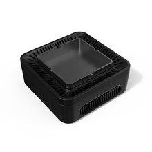 منفضة سجائر لتنقية الهواء متعددة الأغراض ارتفاع ضغط الأيونات السالبة لتنقية الهواء USB قابلة للشحن دخاني للمنزل مكتب سيارة