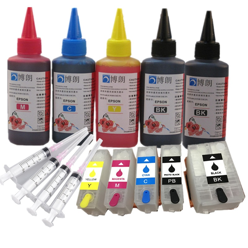 AliExpress - Refill ink kit for epson 202xl 202 Refillable  ink cartridge arc chip for Epson Expression Photo XP-6000/XP-6005/XP-6100/XP-6105