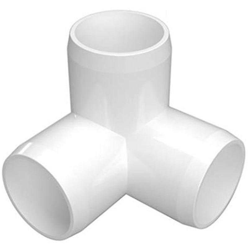1-1 / 4 بوصة بك الكوع-تصنيع الثقيلة أثاث PVC-بك الكوع الملحقات (حزمة من 8)