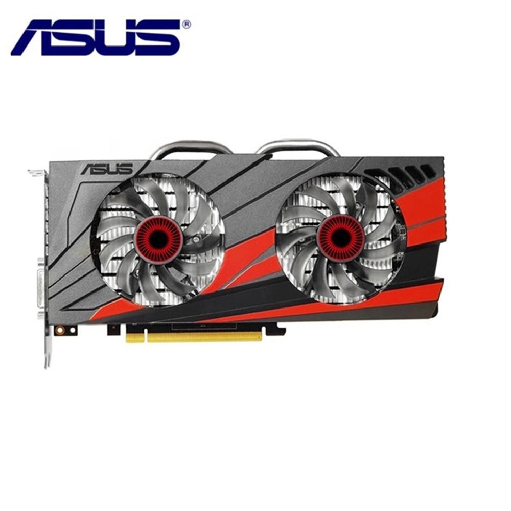 Tarjeta de vídeo ASUS GTX 960 2GB 128Bit GDDR5, tarjeta gráfica para tarjetas nVIDIA VGA Geforce GTX960 HDMI GTX 750 Ti 950 1050 1060 usado