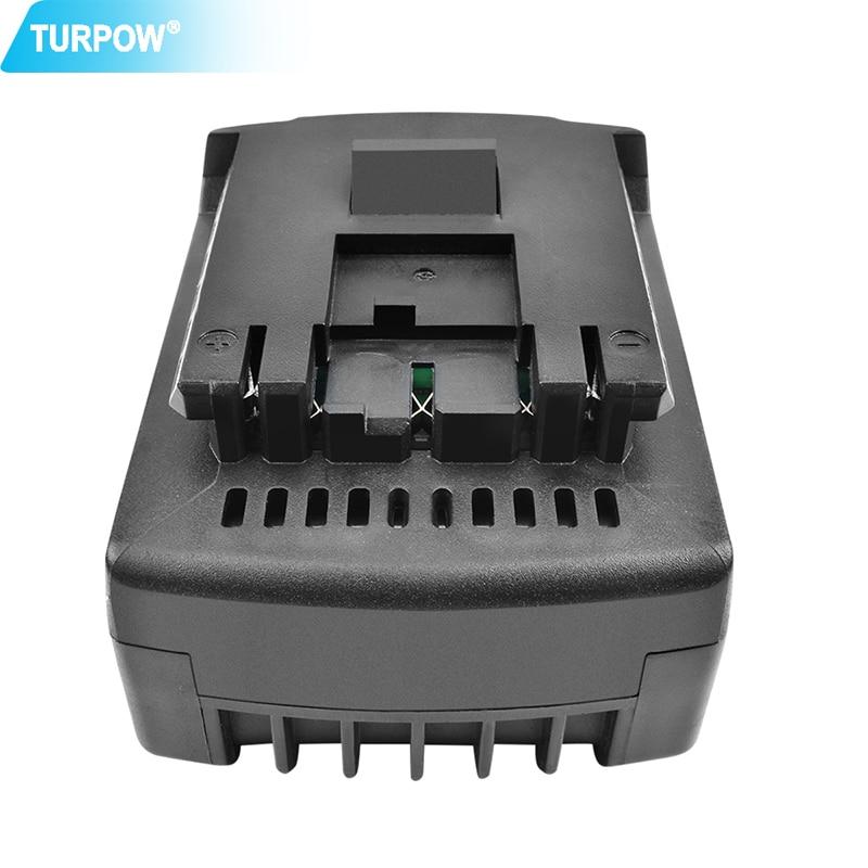 Turpow 14,4 V 4000mAh Li-ion BAT614 batería para Bosch BAT614 BAT614G BAT607 BAT607G 17614-01 PB360S batería de herramientas eléctricas