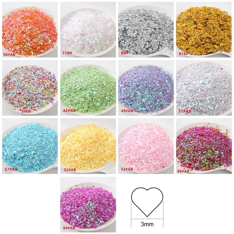 New holographic sequins flash diamond eyes shiny skin fluorescent sequins facial flash holiday makeu