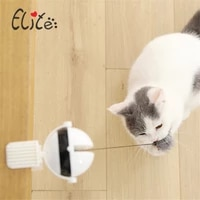 pet cat toy yo yo lifting ball cat electric interactive toy automatic throwing ball feather toy sports props pet supplies
