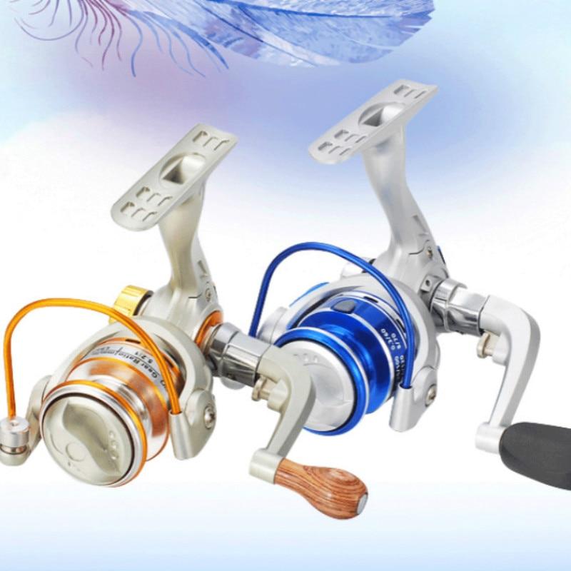 Carrete de pesca ruedas de agua salada carrete de pesca bobina de pesca giratoria TH150/MH150 plástico profesional izquierda/derecha MANO