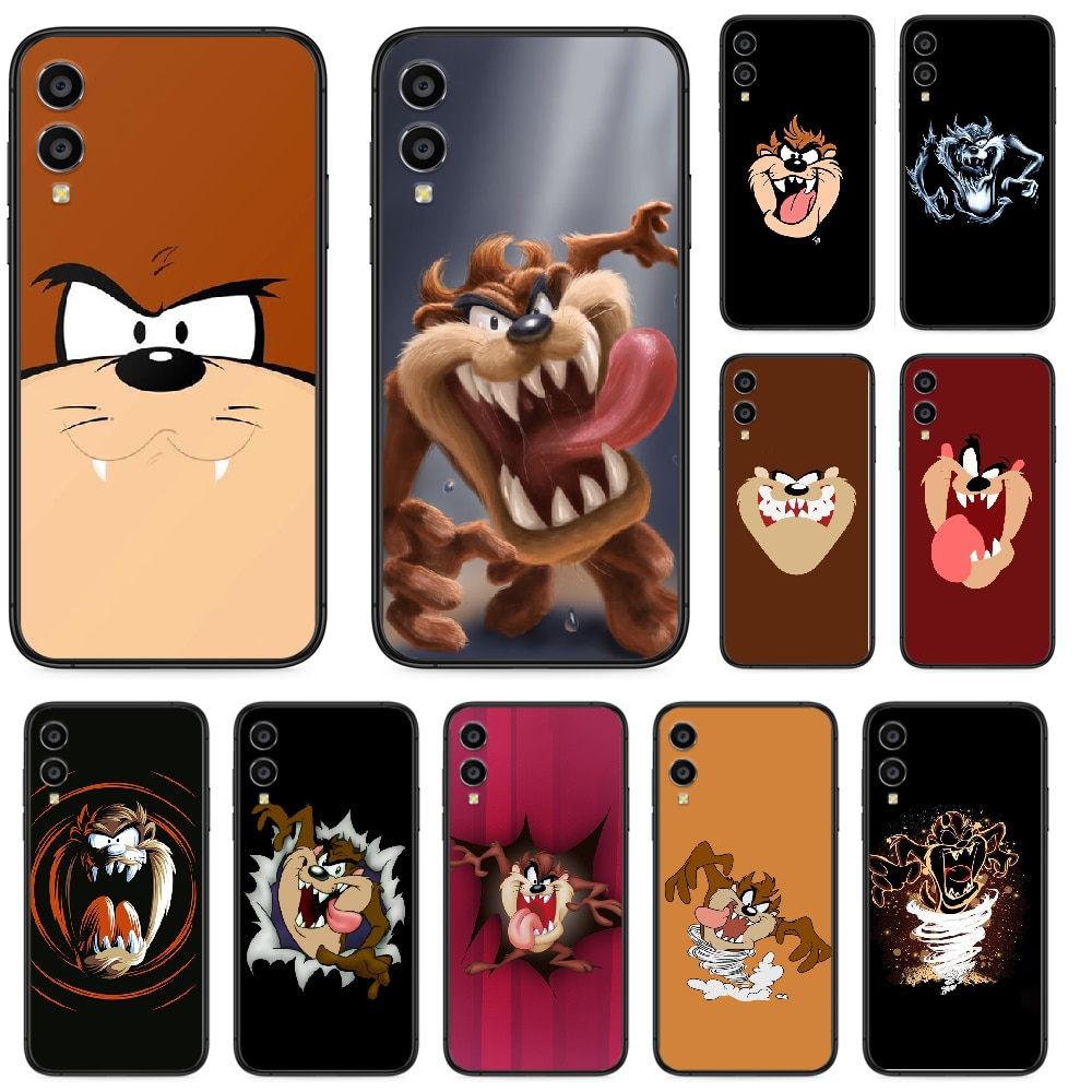 Taz Looney Tunes Tasmanian Devil caixa Do Telefone Para Huawei Honra 10 10i 20 6A 7A 7C 8 8A 8X 9 9X Jogar Vista 20 Lite Pro preto