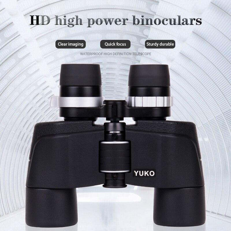 LUXUN 6-16x40 HD Zoom Binoculars Outdoor Tourism lll Night Vision Telescope Black Powerful Binoculars For Hunting